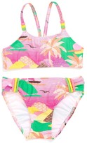 Hula Star 'Summer Vacation' Two-Piece Swimsuit (Little Girls)