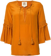 Figue Poet blouse - women - Silk - XS