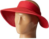 San Diego Hat Company PBV010 Four Buttons Visor with Elastic Closure Casual Visor