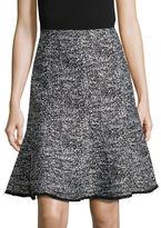 Karl Lagerfeld Paris Tweed Trumpet Skirt