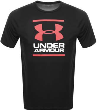 Under Armour Foundation Logo T Shirt Black