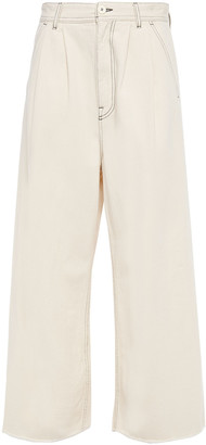 MM6 MAISON MARGIELA Cropped High-rise Wide-leg Jeans