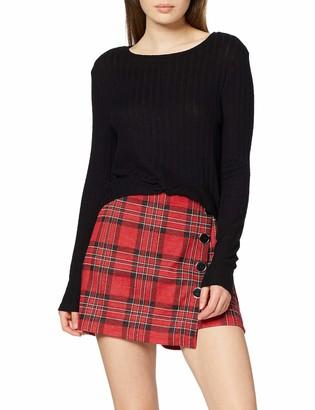 INSIDE Women's 82SPL05& Longsleeve T-Shirt Black (Negro 1) Large