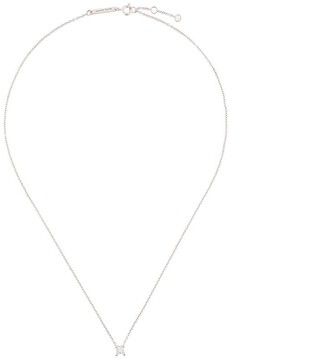 Delfina Delettrez Dots Solitaire diamond necklace