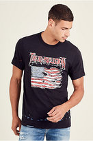 True Religion Land Of The Free Mens Tee