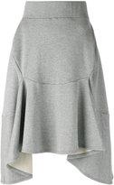 Junya Watanabe Comme Des Garçons - asymmetric skirt - women - Cotton - S