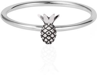 Lee Renee Tiny Pineapple Ring Silver