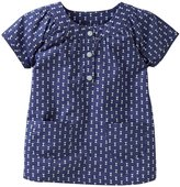 Carter's Printed Babydoll (Baby) - Navy-24 Months