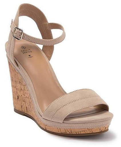 caa7d74878f Acaviel Wedge Sandals Women Shoes