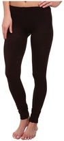 Plush Fleece-Lined Footless Tights