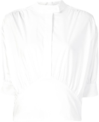 By Any Other Name Blouson Poplin Shirt