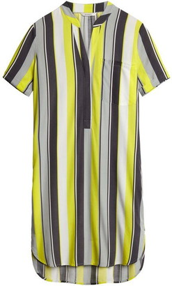 Sandwich Yellow And Grey Stripe Tunic