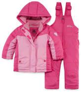 Weatherproof Heavyweight Snow Suit-Baby Girls