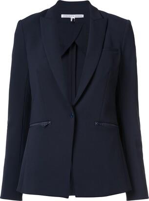 Veronica Beard zip pocket blazer