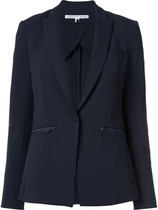 Veronica Beard Zip Pocket Blazer