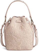 Ralph Lauren Small Floral Drawstring Bag