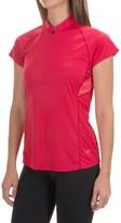 Arc'teryx Kapta Zip Neck Shirt - Short Sleeve (For Women)