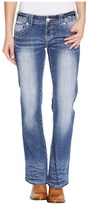 Rock and Roll Cowgirl Low Rise Bootcut in Medium Vintage W0-1378 Women's Jeans