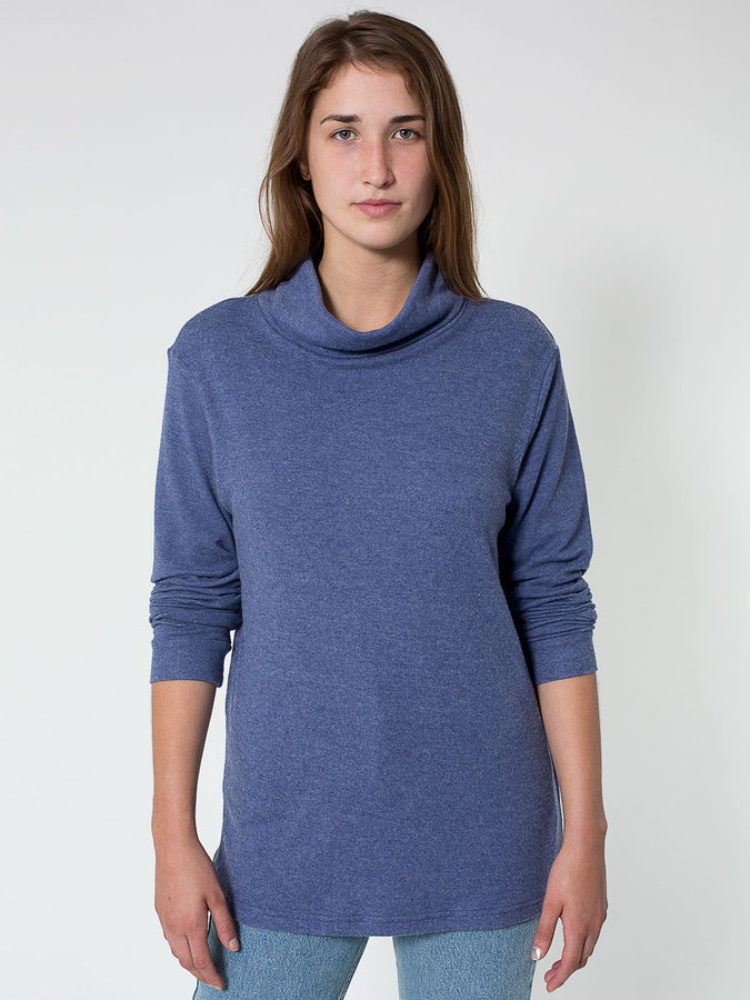 American Apparel Unisex Slouch Turtleneck