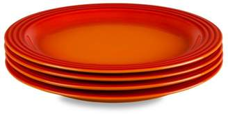 Le Creuset Set of Four Dinner Plates