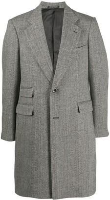 Emporio Armani Mid-Length Single-Breasted Coat