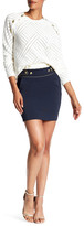 Pierre Balmain Nautical Button Detail Skirt