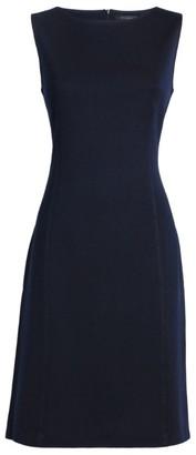 St. John Milano Scoop-Neck Dress