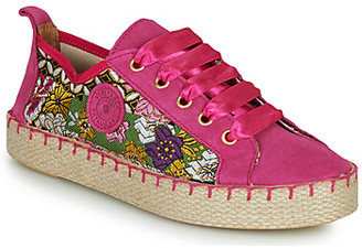 Pataugas PANKE women's Espadrilles / Casual Shoes in Pink
