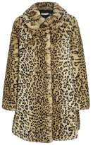 Alice + Olivia Kinsley Leopard-print Faux Fur Coat