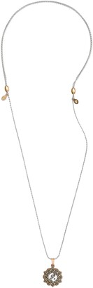 Alex and Ani Taurus En Two Tone Necklace