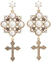 Charlotte Russe Embellished Statement Earrings