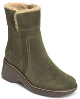 Aerosoles Side Kick Fleece Trim Suede Boots