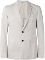 Burberry slim-fit blazer - men - Cotton/Spandex/Elastane - 46