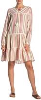 Caslon Striped Novelty Dress
