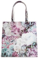 Ted Baker Large Icon Illuminated Bloom Tote - Purple