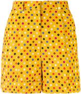 Rossella Jardini - printed shorts - women - Cotton/Linen/Flax/Acetate/Viscose - 40