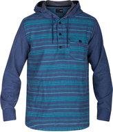 Hurley Men's Cardiff Stripe Pullover Hoodie