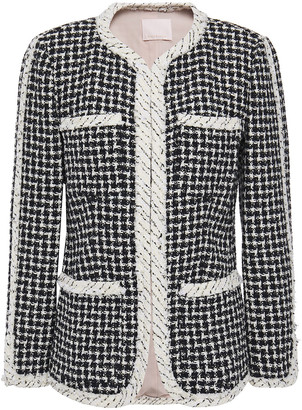 Rebecca Taylor Cotton-blend Tweed Jacket