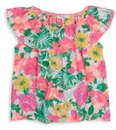 Pinc Premium Girl's Floral-Print Top
