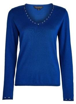 Dorothy Perkins Womens Blue Cobalt V