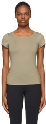 Maryam Nassir Zadeh Khaki Astrid T-Shirt