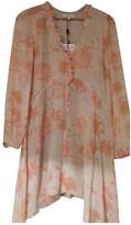 Patrizia Pepe Orange Silk Dress for Women
