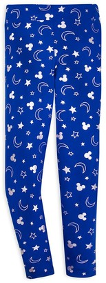 Disney Mickey Mouse Leggings for Women Wishes Come True Blue