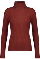 A.L.C. Emma Ribbed Merino Wool-Blend Turtleneck Sweater