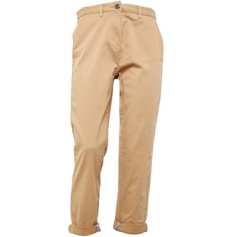 Crew Clothing Womens Chino Trousers Biscuit
