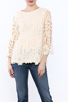 Hayden Ivory Crochet Top