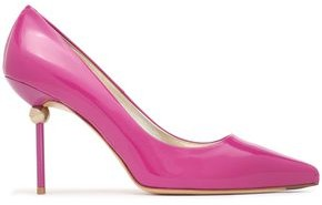 Roger Vivier Appliqued Patent-leather Pumps