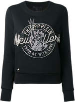 Philipp Plein New York embellished sweatshirt