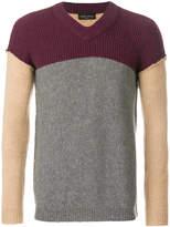 Roberto Collina colourblock sweater