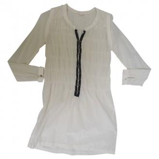 By Zoé Ecru Silk Dress for Women